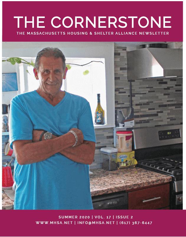 The Cornerstone MHSA newsletter Summer 2020 cover