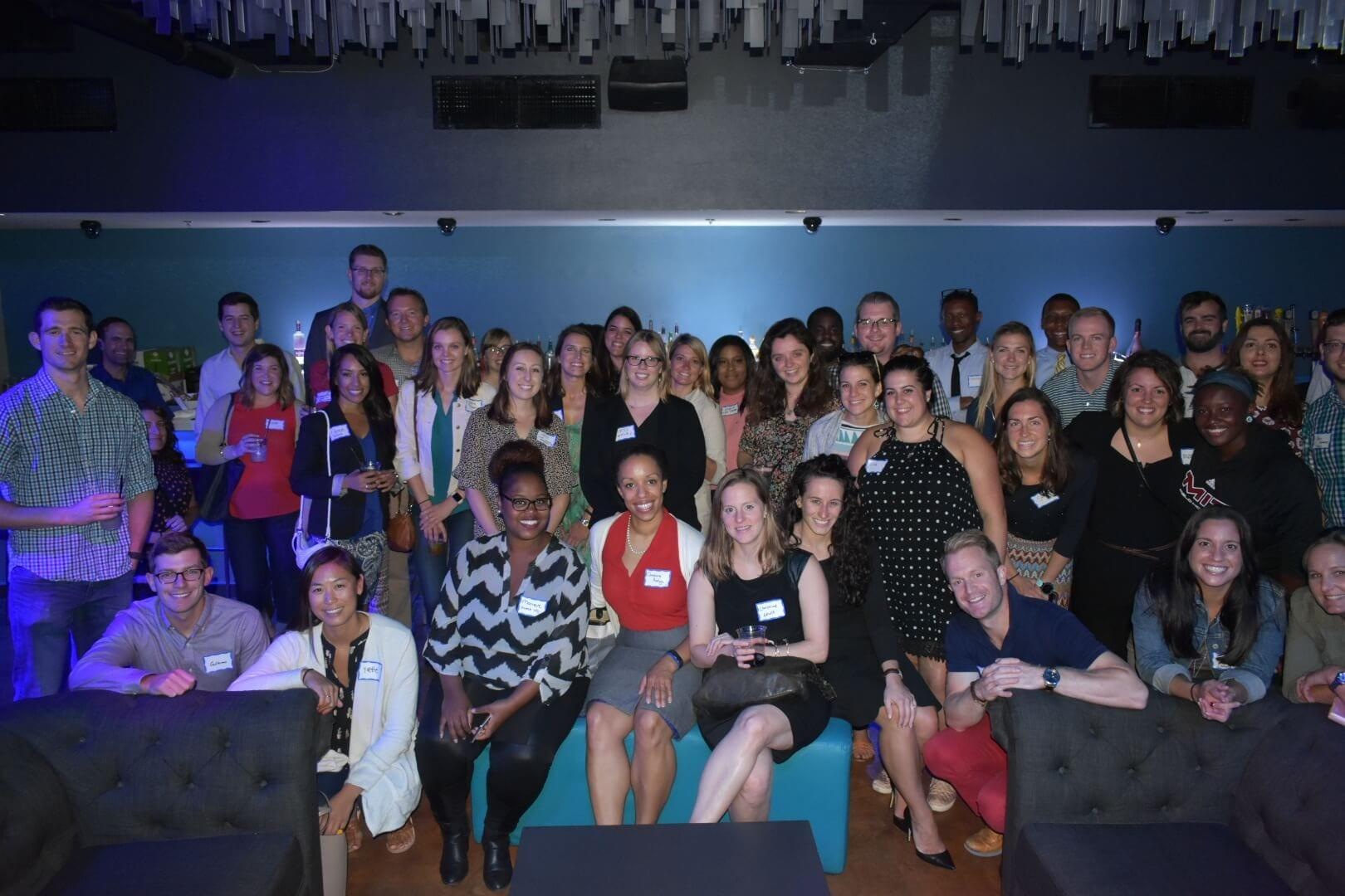 young professionals group event