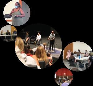 Collage of Speakers Bureau Presentations