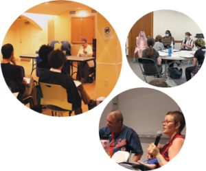 Second Collage of Speakers Bureau Presentation